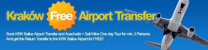free krakow airport transfer