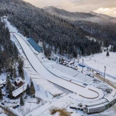 Large ski jump in Zakopane called Huge Krokiew names Stanislawa Marusarza