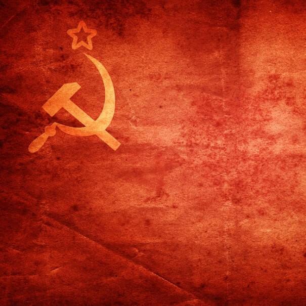 Soviet Flag grange - Communsim Deluxe Tour