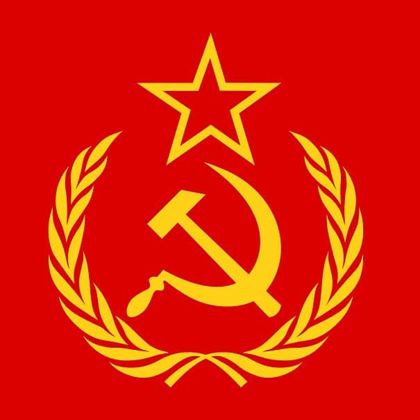 communism symbol, hammer, sickle, star, and wreath - comminism tour krakow