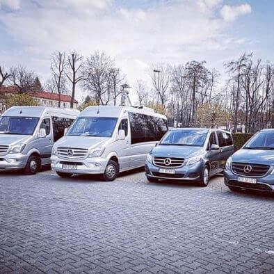 Krakow Shuttle car fleet