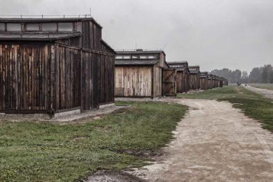 Auschwitz II BIrkenau Baracks