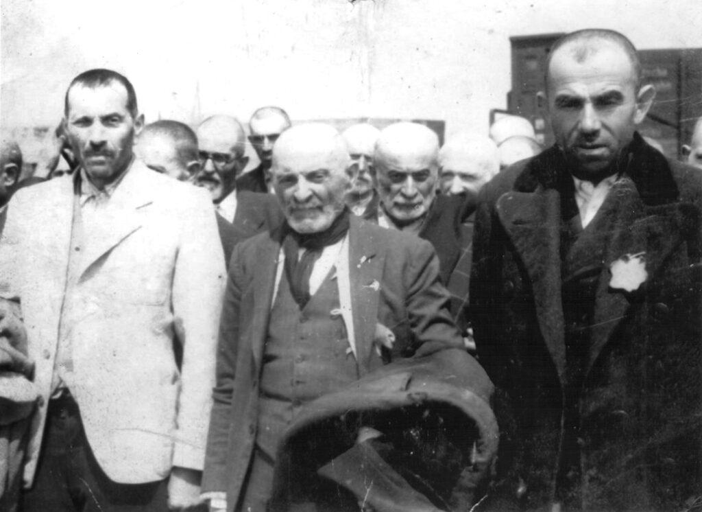 Carpathian Jews, victims of Auschwitz Birkenau.