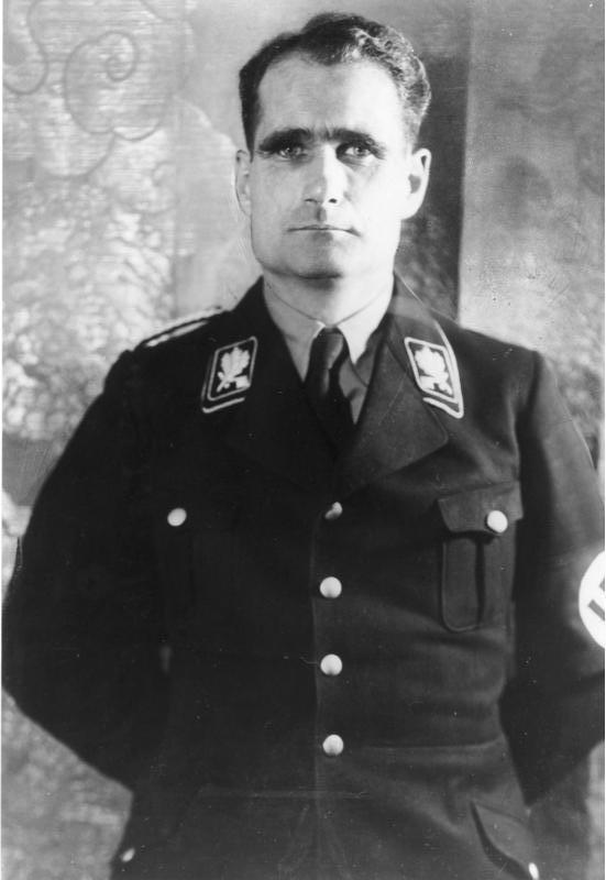 Rudolf Höss, the founding commander of Auschwitz.
